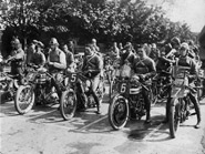 Start of 1921 Junior TT